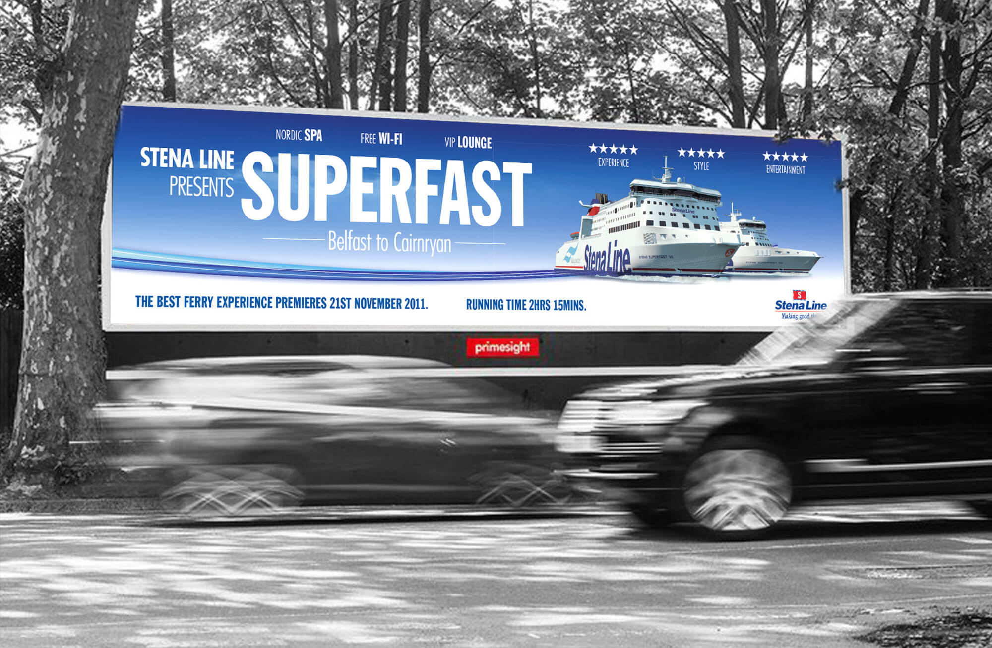STENA LINE - SUPERFAST LAUNCH